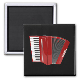 Accordion: The Red Accordion Magnet