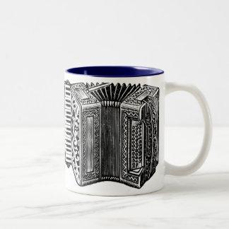 Accordion Two-Tone Coffee Mug