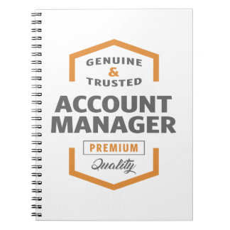 Account Manager Notebooks