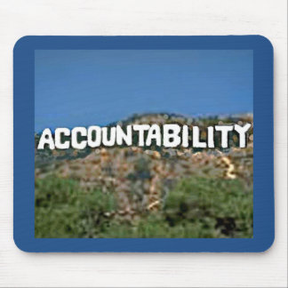 Accountability Mousepad