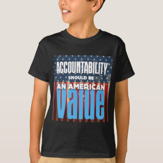 Accountability Should Be An American Value, Grunge T-Shirt