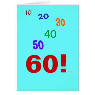 Accountant 60th Quote - 60 and still accounting! Card