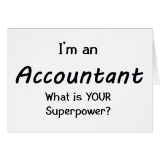 accountant card