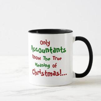 Accountant Christmas Famous Quote Mug