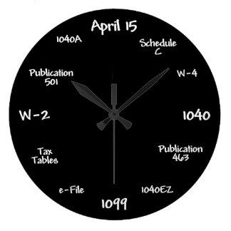 Accountant Clock - Tax Time Clock