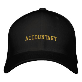 Accountant Embroidered Hat