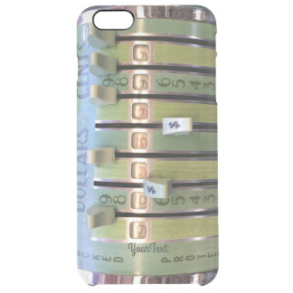 Accountant Gift! CPA Tax Time! Clear iPhone 6 Plus Case