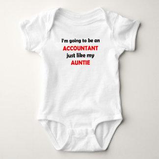 Accountant Like My Auntie Baby Bodysuit