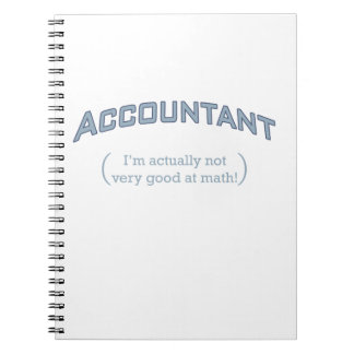 Accountant - Math Notebook