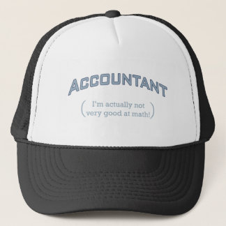 Accountant - Math Trucker Hat