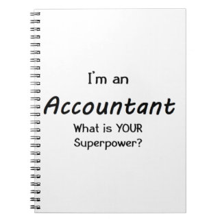 accountant notebooks