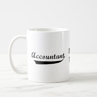 Accountant Sports Style Text Coffee Mug