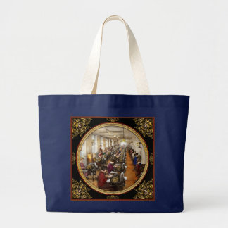 Accountant - The enumeration division 1924 Large Tote Bag