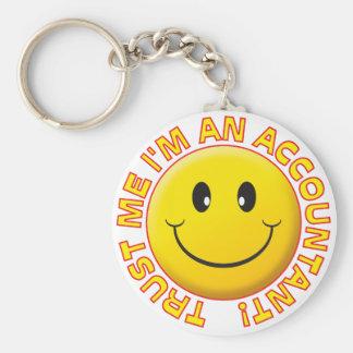 Accountant Trust Me Keychain