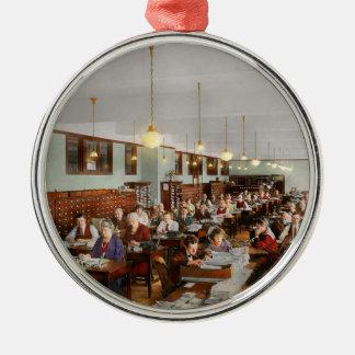 Accountant - Workaholic 1923 Metal Ornament