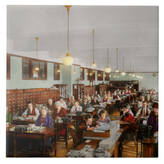 Accountant - Workaholic 1923 Tiles