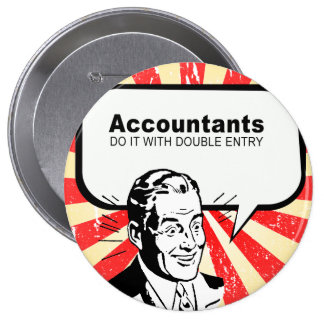 Accountants do it with double entry pins