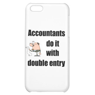 accountants do it with double entry iPhone 5C cases