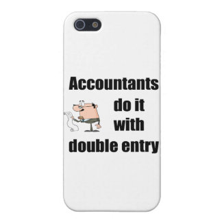 accountants do it with double entry cover for iPhone 5