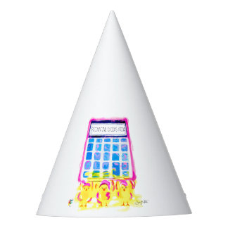 Accounting Chicks Rock Party Hat