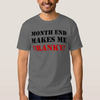 Accounting & Finance Month End Approval Stamp T Shirts