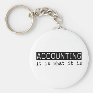 Accounting It Is Keychain