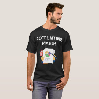 Accounting Major College Degree T-Shirt