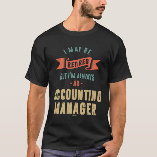 Accounting Manager T-Shirt