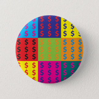 Accounting Pop Art 2 Inch Round Button