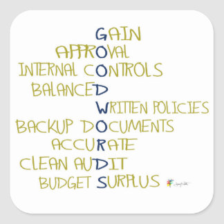 Accounting Sticker | Good Words