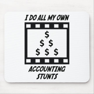 Accounting Stunts Mouse Pads