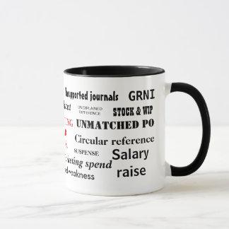Accounting Swear Words! Rude Accountant Mug