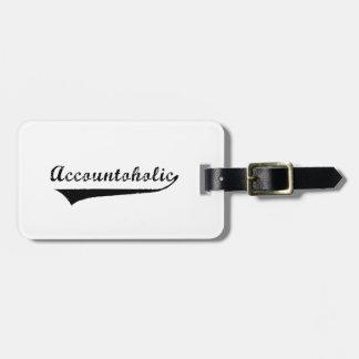 Accountoholic Luggage Tag
