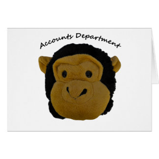 Accounts Department Card