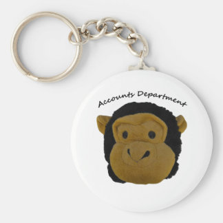 Accounts Department. Funny Gifts for  work persons Keychain