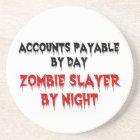Accounts Payable Zombie Slayer Coaster