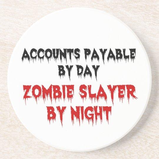 Accounts Payable Zombie Slayer Coaster