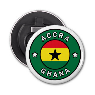 Accra Ghana Bottle Opener