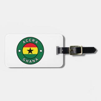 Accra Ghana Luggage Tag