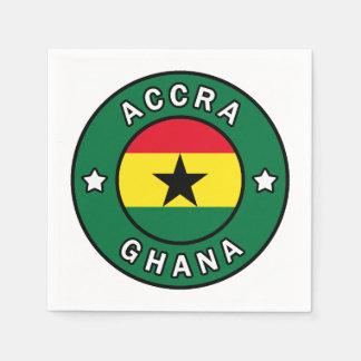 Accra Ghana Napkin