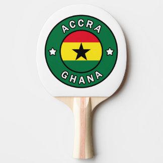Accra Ghana Ping Pong Paddle