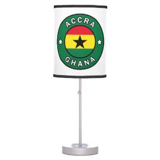 Accra Ghana Table Lamp