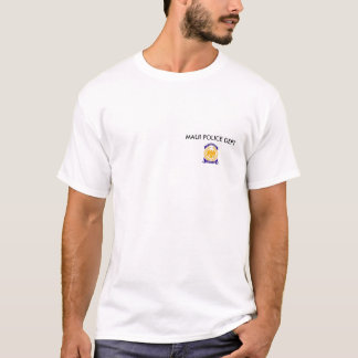 accredtb, MAUI POLICE DEPT T-Shirt