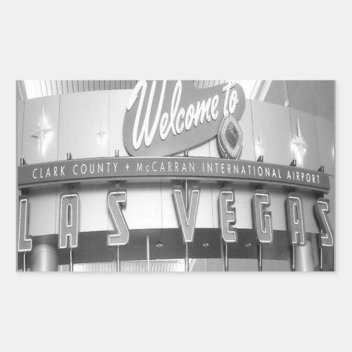Accueil vers Las Vegas fabuleux Autocollants En Rectangle