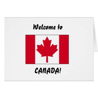 Accueil vers le Canada Carte