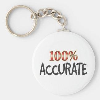 Accurate 100 Percent Key Chain