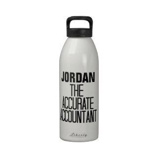 Accurate Accountant Water Bottle