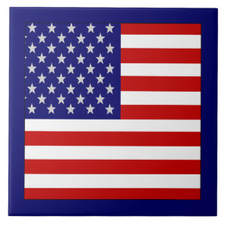 Accurate American Flag Tile