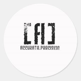Accurate Precision Stickers