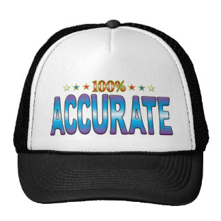 Accurate Star Tag v2 Trucker Hat